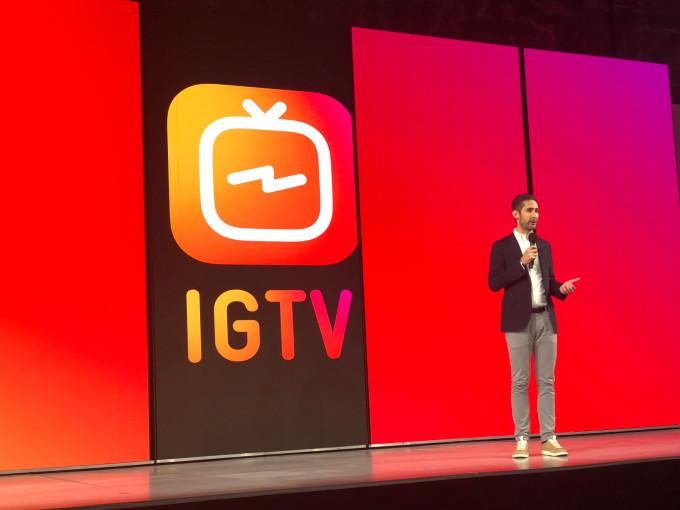 Instagram está soltando el botón IGTV