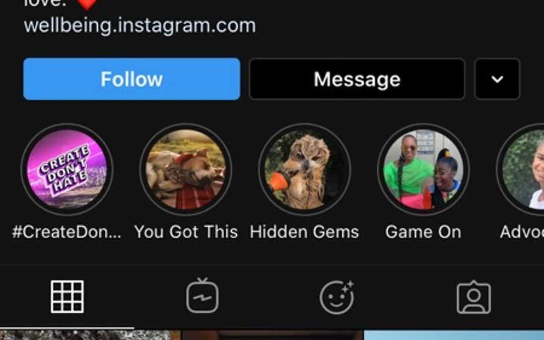 Actualización de Instagram para iOS 13 y soporte adicional para modo oscuro
